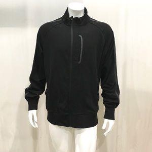 Lululemon Men's Black Full Zip Sweatshirt